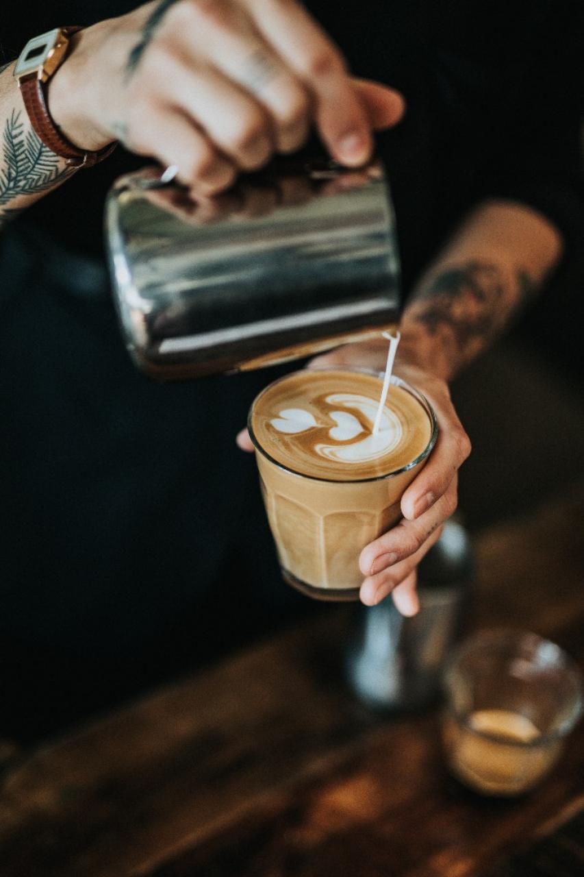 praca w kawiarni