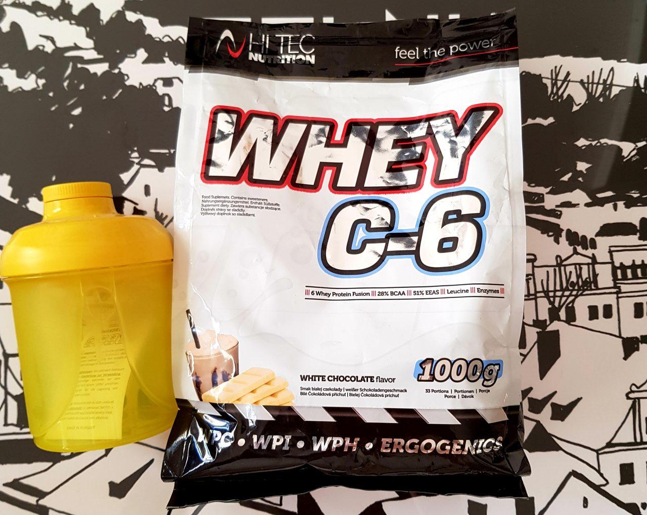 Test odżywki białkowej Whey C-6