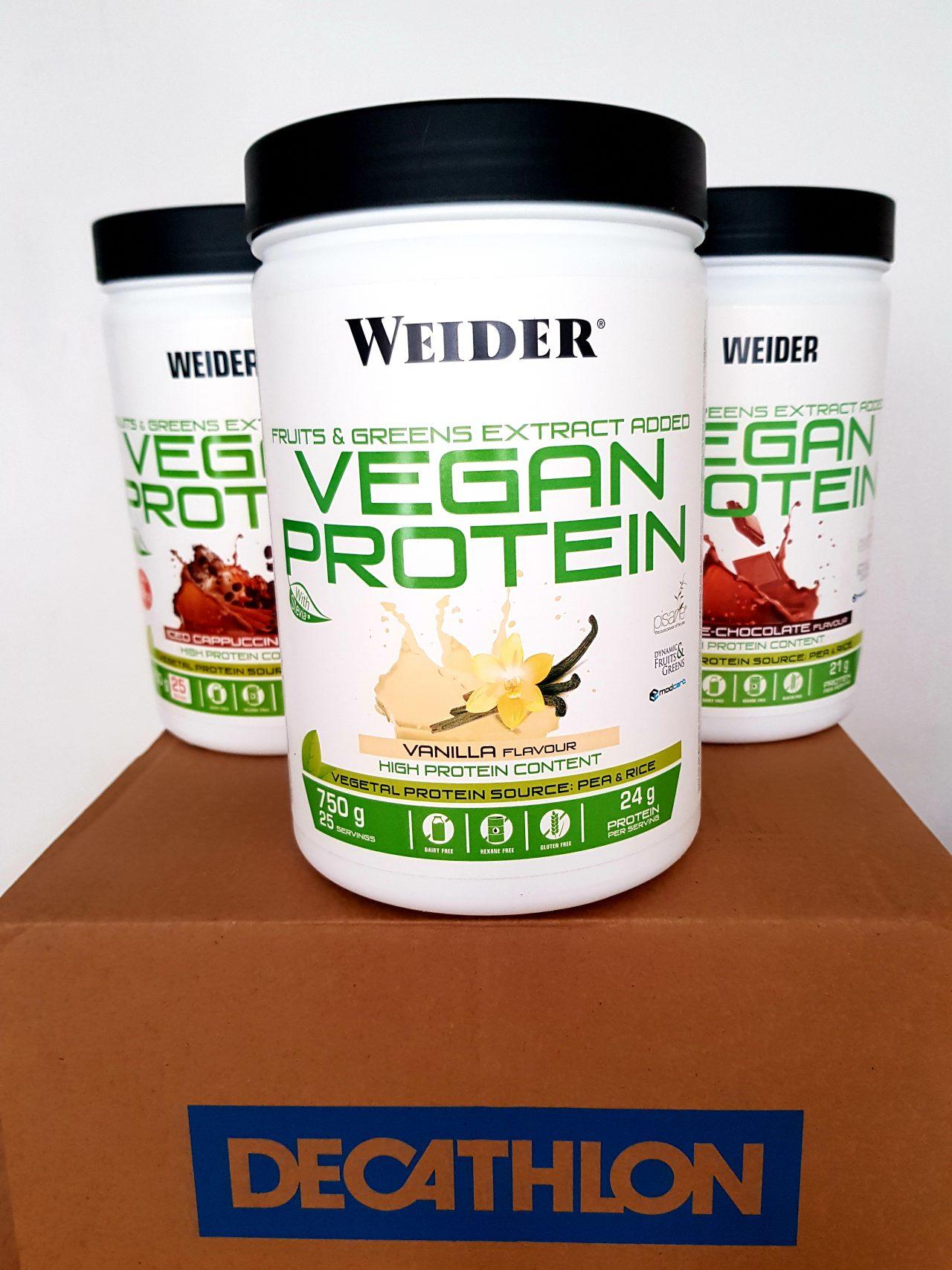 Test wegańskiej odżywki białkowej Weider