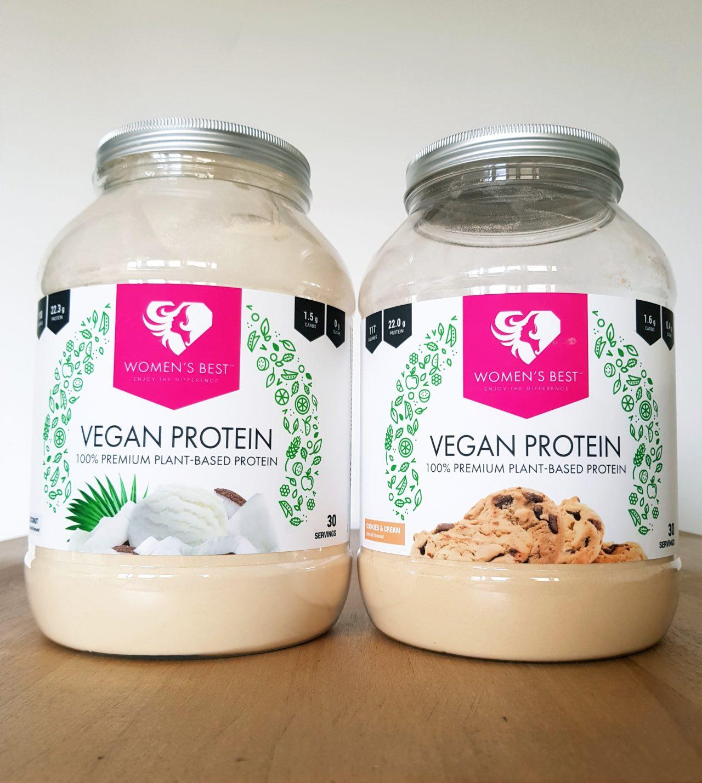 Test wegańskiej odżywki białkowej Women's Best